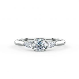 Abigail - A pear shaped diamond ring