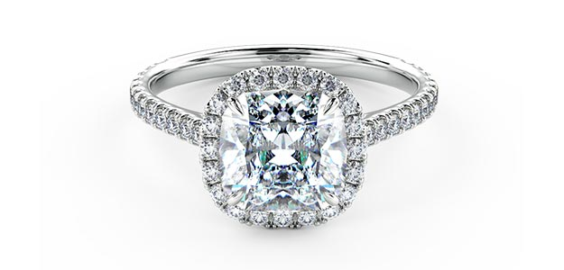 Stunning Halo Diamond Rings